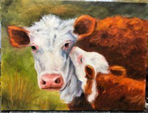 Evening Class - New Castle Art Center - Feb 5 - Mother & Calf @ Art Center Annex - Schaffer Studio