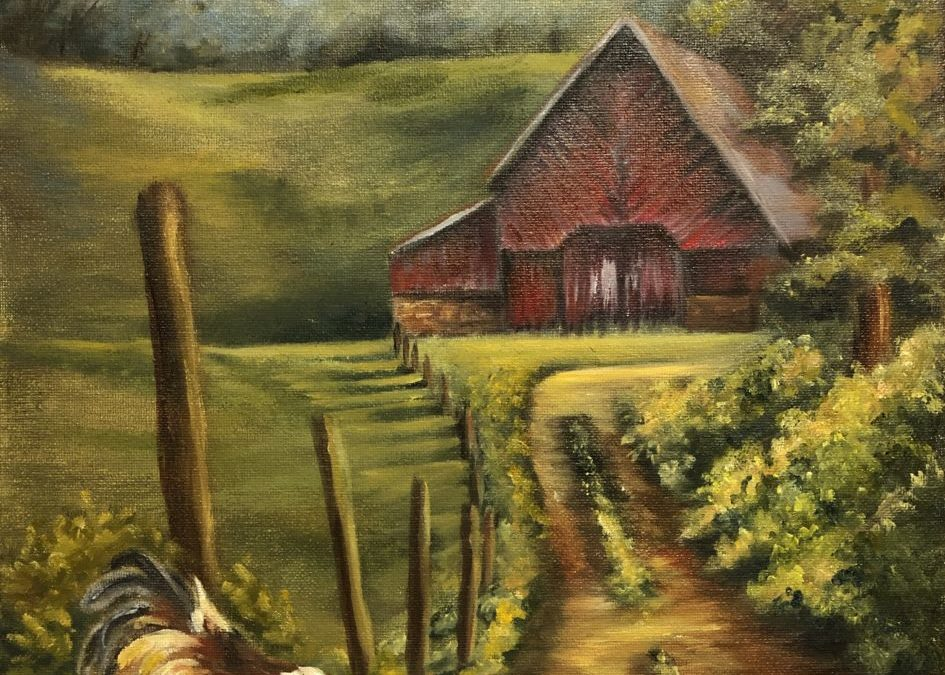 Free Range – Full length oil painting tutorial
