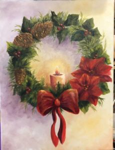 Pendleton Artists Society - Dec. 15 - Holiday Wreath @ Gallery 119 - Pendleton Artists Society