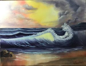 Bob Ross - Lilac Studio - Basic Seascape @ Lilac Studio | New Castle | Indiana | United States