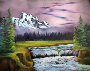 Bob Ross Event - Lilac Studio - New Castle - Arctic Beauty @ Lilac Studio