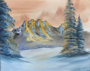 Lilac Studio - Bob Ross Mountain Rhapsody @ Lilac Studio in New Castle | Muncie | Indiana | United States