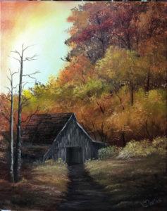 Bob Ross Event - Autumn Barn - New Castle @ Lilac Studio in New Castle | Muncie | Indiana | United States