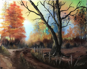 Bob Ross Event - Autumn Palette - New Castle @ Lilac Studio in New Castle | Muncie | Indiana | United States