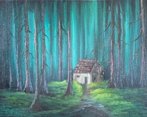 FULL - Lilac Studio - Bob Ross - Cabin in the Woods @ Lilac Studio in New Castle | Muncie | Indiana | United States