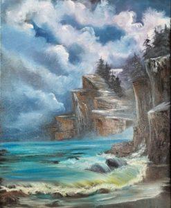 Lilac Studio - Bob Ross - Evening Seascape @ Lilac Studio in New Castle | Muncie | Indiana | United States