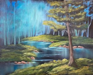 FULL- Lilac Studio - Bob Ross - Forest River @ Lilac Studio in New Castle | Muncie | Indiana | United States