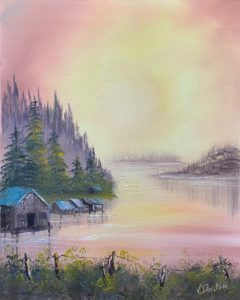 Canceled - Bob Ross - Father's Day Event - Fisherman's Paradise @ Lilac Studio in New Castle   Muncie   Indiana   United States