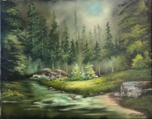 FULL - Lilac Studio - Bob Ross - Country Creek @ Lilac Studio in New Castle | Muncie | Indiana | United States