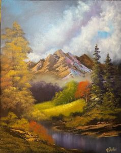 Zoom - Bob Ross - Mountain Valley @ Lilac Studio in New Castle | Muncie | Indiana | United States