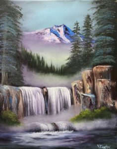 Canceled - Evening Class: LILAC STUDIO - Spectacular Waterfall @ Lilac Studio in New Castle | Muncie | Indiana | United States
