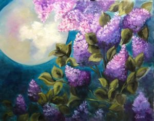 Lilac Studio - 3 spaces left - Moonlit Lilacs @ Lilac Studio in New Castle | Muncie | Indiana | United States