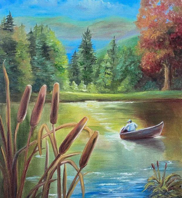 Fisherman's Tale Oil Painting Tutorial
