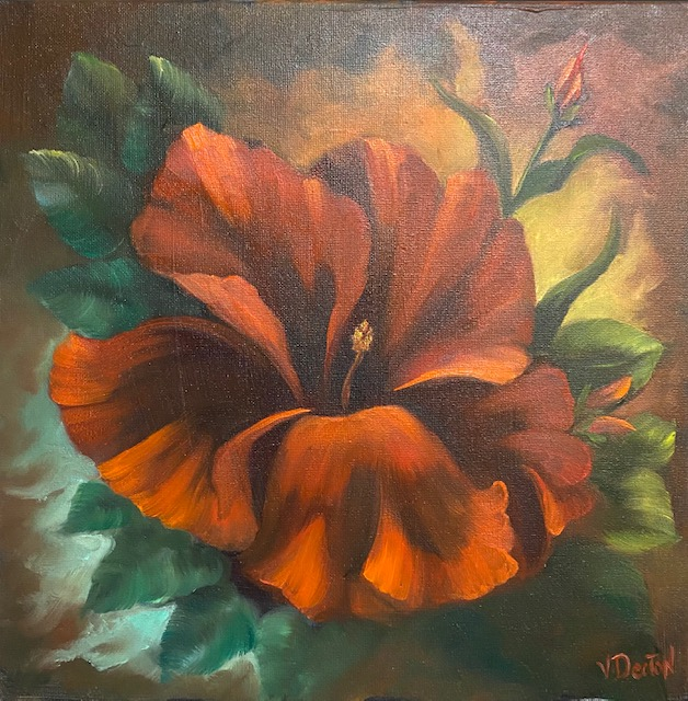 Floral Fantasy Oil Painting Tutorial